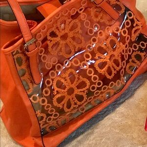 Orange Big Buddha Handbag/Purse/Pocketbook